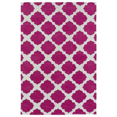 Marie Pink Area Rug Rug Size: Rectangle 8 x 10