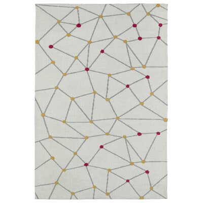 Marilyn Ivory Area Rug Rug Size: Rectangle 5 x 7