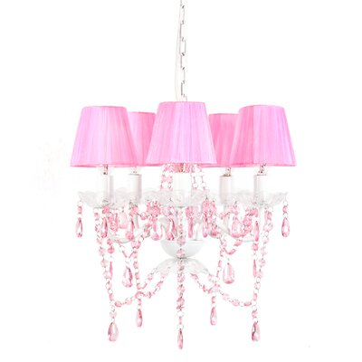 Caden 5-Light Shaded Chandelier