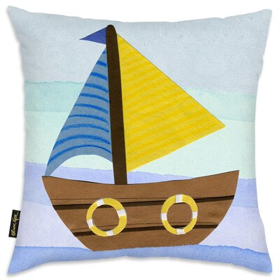 Shelia Boat Throw Pillow