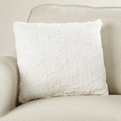 Rutledge Faux Fur Throw Pillow