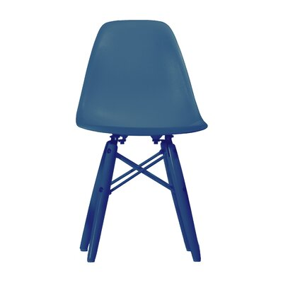 Rebekkah Side Chair (Set of 2) Finish: Blue