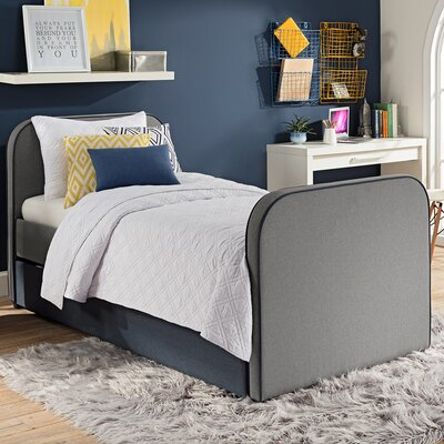 Lucinda Twin Upholstered Platform Bed