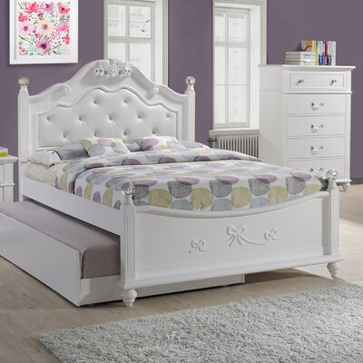 Lydia Upholstered Panel Bed Size: Full