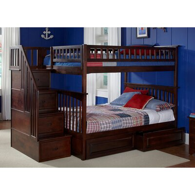 Henry Full Over Full Bunk Bed with Drawers