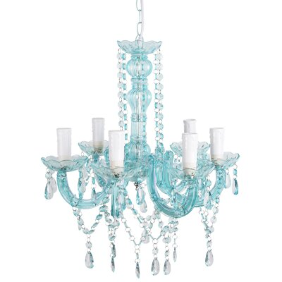 Zakkery 6-Light Crystal Chandelier