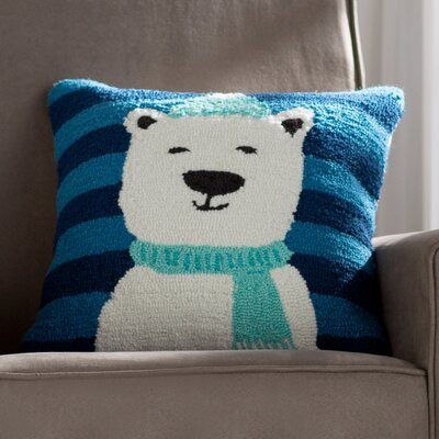 Paizlee Bear Pillow Cover Fill Type: Polyester