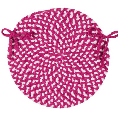 Tanya Chair Cushion Fabric: Magenta