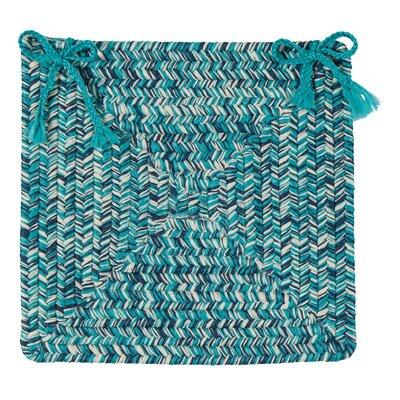 Thomson Reversible Chair Cushion Fabric: Blue
