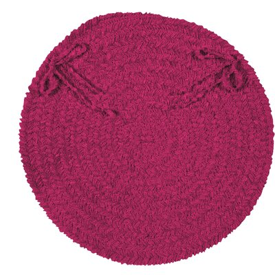 Jere Chair Cushion Fabric: Magenta