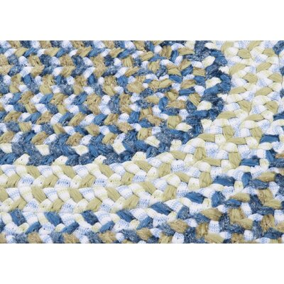 Tanya Blueberry Pie Outdoor Area Rug Rug Size: Oval 3 x 5