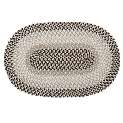 Tanya Mint Chip Outdoor Area Rug Rug Size: Oval 4 x 6