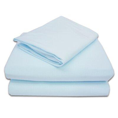 Dalton 3 Piece Toddler Sheet Set Color: Blue VVRO4607 32111698
