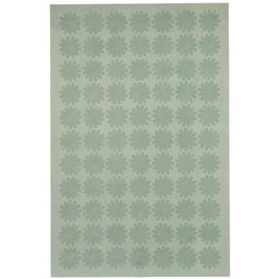 Astronomy Hand-Tufted Green/Sage Area Rug