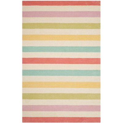 Circus Hand-Tufted Peony Area Rug Rug Size: Runner 23 x 8
