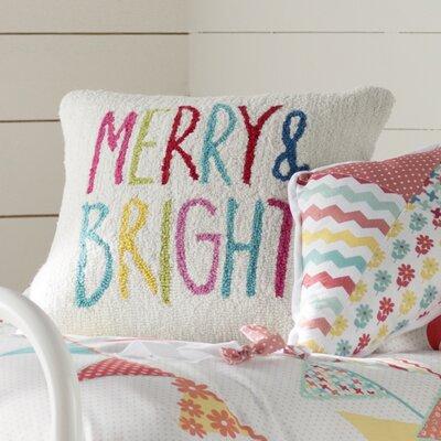 Donati Merry & Bright Winter Throw Pillow