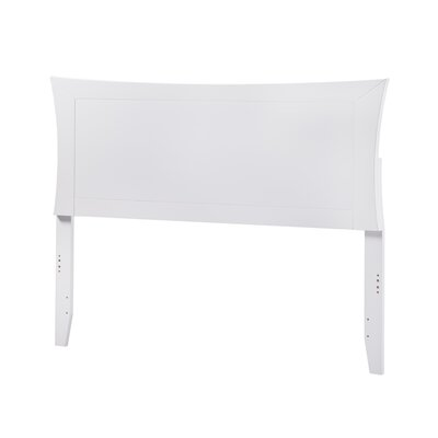 Maryanne Panel Headboard Color: White, Size: Full