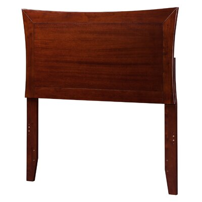 Maryanne Panel Headboard Size: Twin, Finish: Antique Walnut