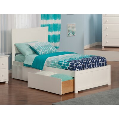 Maryanne Extra Long Twin Platform Bed Finish: White