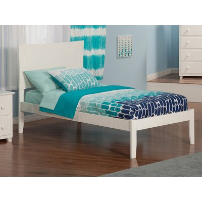 Maryanne Extra Long Twin Platform Bed Color: White