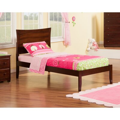 Maryanne Extra Long Twin Platform Bed Finish: Antique Walnut