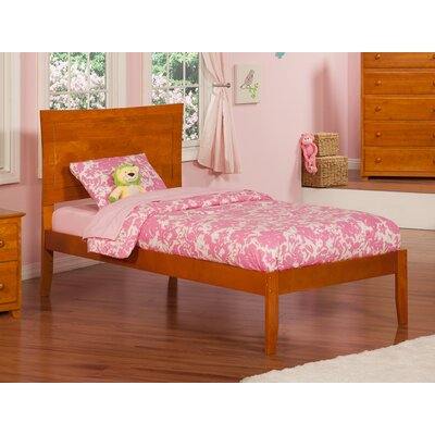 Maryanne Extra Long Twin Platform Bed Finish: Caramel Latte