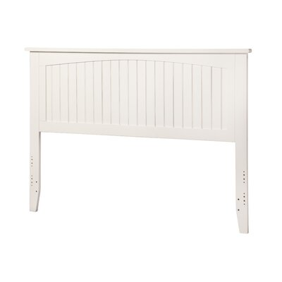 Maryellen Panel Headboard Size: King, Finish: White