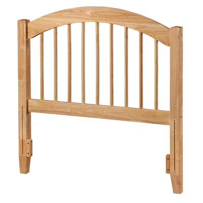 Maryanne Slat Headboard Upholstery: Natural, Size: Twin
