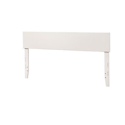 Mathias Panel Headboard Size: Twin, Finish: White