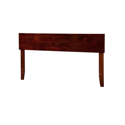 Mathias Panel Headboard Size: King, Color: Walnut