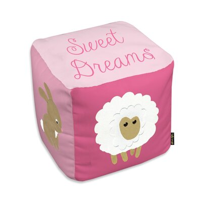 Shelia Sweet Dreams Light Pink Ottoman