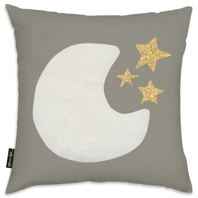 Shelia Moon and Stars Throw Pillow