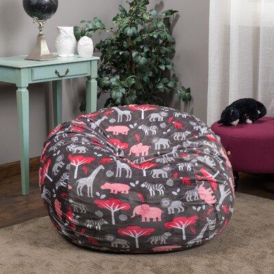 Bean Bag Chair Upholstery: Watermelon