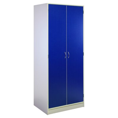 Hambling Armoire Finish: White/Blue