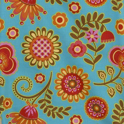Pearlie Big Flower Fabric