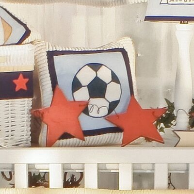 Julio Soccer Ball Decorator Throw Pillow