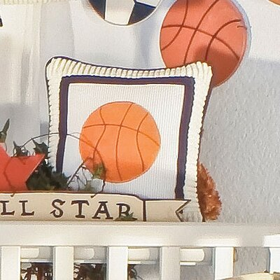 Julio Basketball Decorator Throw Pillow