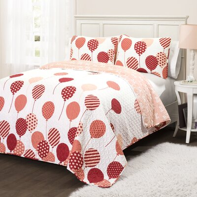 Melinda 3 Piece Quilt Set
