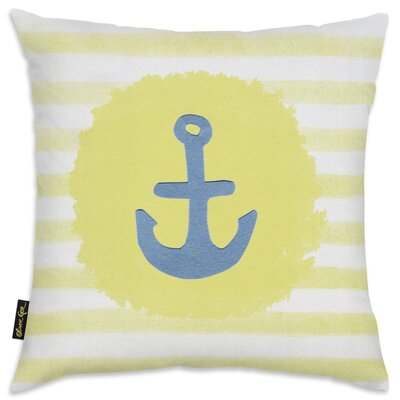 Shelia Anchor Throw Pillow