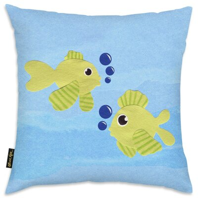 Shelia Fishies Throw Pillow