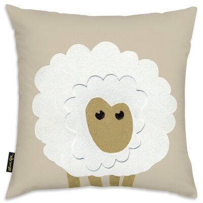 Shelia Sheep Throw Pillow