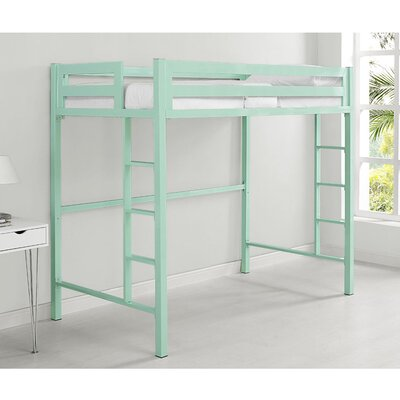 Nikolai Twin Slat Bed Color: Mint