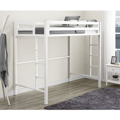 Nikolai Twin Slat Bed Color: White