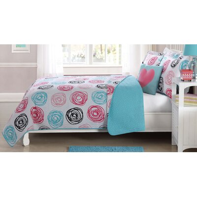 Morgan Circles Quilt Mini Set Size: Twin