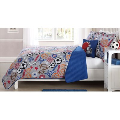 Natalia Sports Express Quilt Mini Set Size: Twin