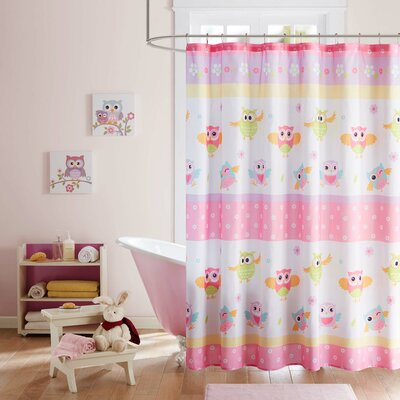 Ebony Printed Shower Curtain