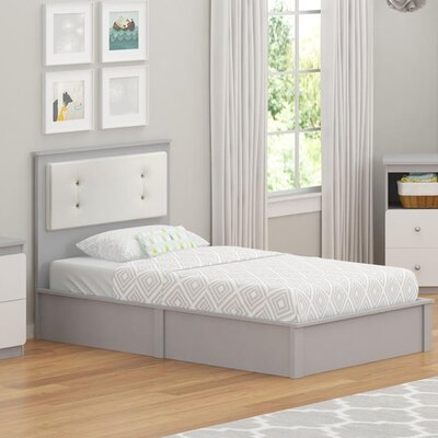 Wes Twin Platform Bed Finish: Light Slate Gray
