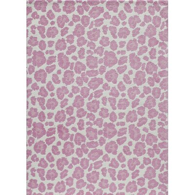 Anita Hand-Tufted�Pink Area Rug Rug Size: Rectangle 5 x 7