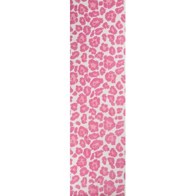Anita Hand-Tufted�Pink Area Rug Rug Size: Runner 23 x 8