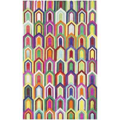 Amaryllis Leather Outdoor Area Rug Rug Size: 8 x 10